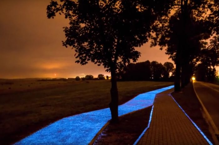 dusk-glow-in-dark-bike-path