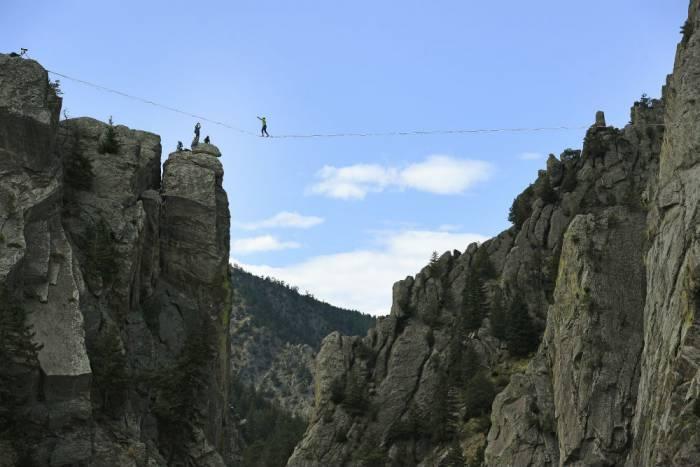 eldorado canyon highline