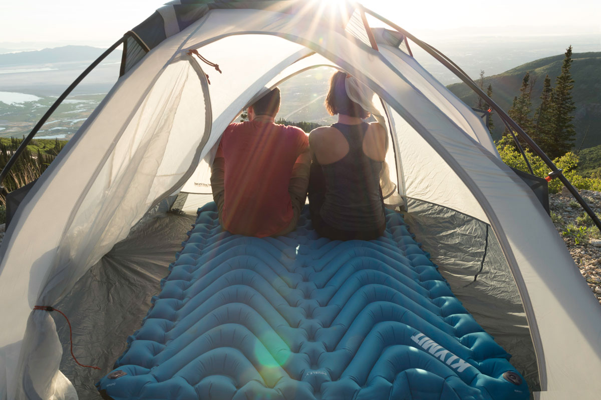 Klymit Two Person Pad Camp Snuggle And Bounce