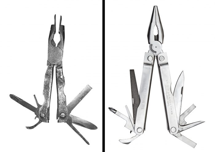 leatherman before and after