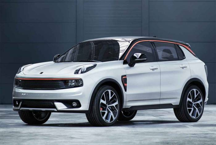 lynk and co vehicle