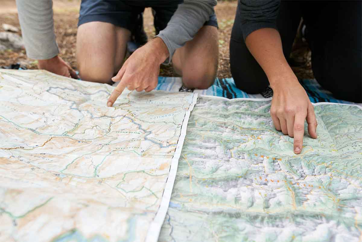 Apps Vs Maps: Why Paper Beats Tech On The PCT | GearJunkie