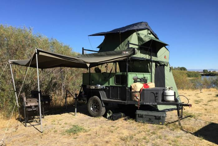 Homemade Fifth Wheel RV Camper  YouTube