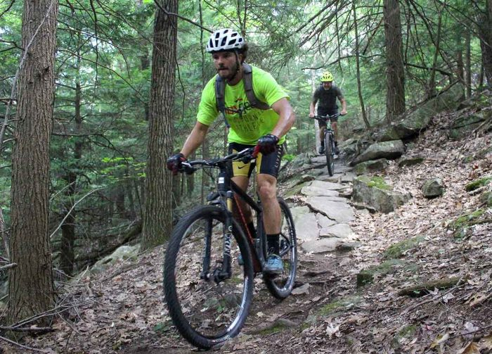 Ascutney mountain biking