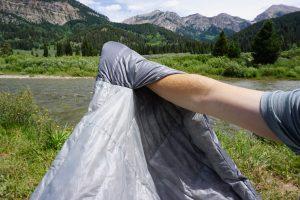 Backcountry Bed Elite Sleeping Bag Hand Pockets