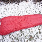 Brooks-Range Mountaineering Elephant Foot Sleeping Bag On Ground