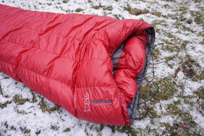 Brooks-Range Mountaineering Elephant Foot Sleeping Bag logo