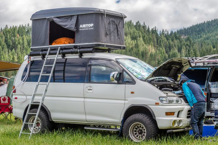 rooftop tent airtop on van & Roof-Top Tents: A Primer