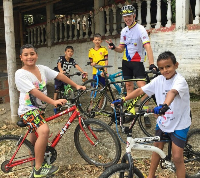 Colombia bicycling