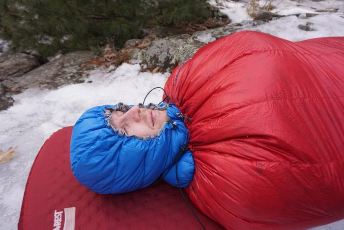 Inside Brooks-Range Mountaineering Elephant Foot Sleeping Bag