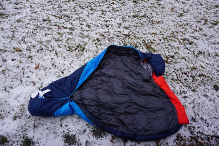 Kelty Cosmic 20 Sleeping Bag Inside