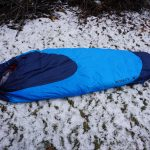 Kelty Cosmic 20 Sleeping Bag On Ground Winter