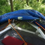 REI Lumen Sleeping Bag On Tent