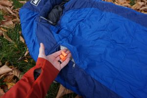 REI Lumen Sleeping Bag Stash Pocket