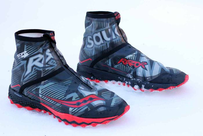 b6580fc9 First Look: Saucony RAZOR ICE+ Winter Running Shoes | GearJunkie