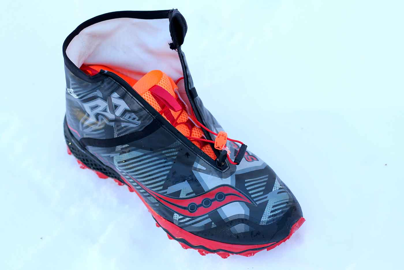 First Look: Saucony RAZOR ICE  Winter Running Shoes
