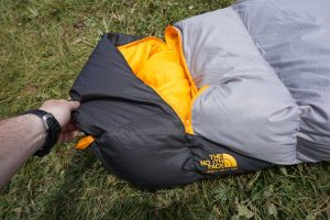 The North Face Superlight Sleeping Bag Footbox