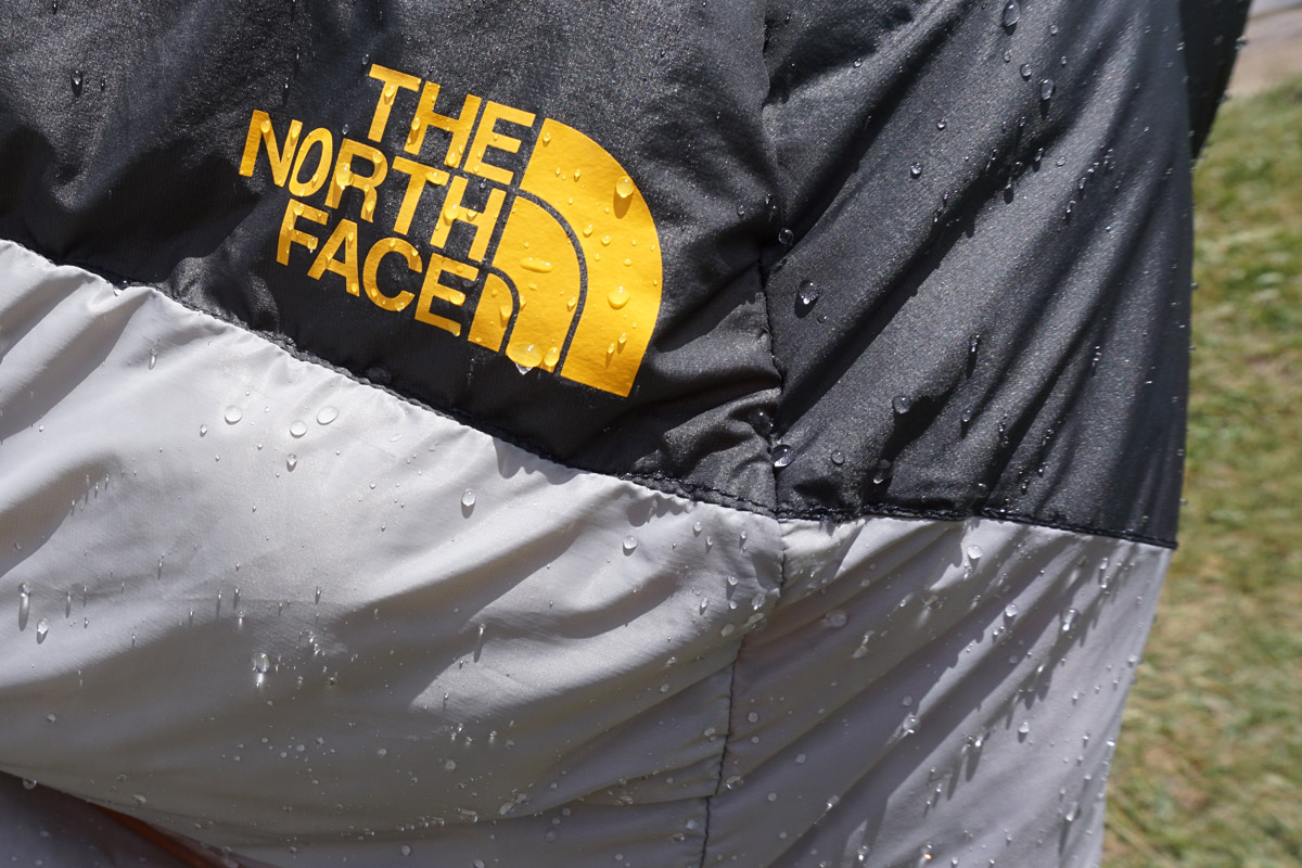 The North Face Superlight Sleeping Bag Water Drops