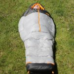 The North Face Superlight Sleeping Bag Zipped Up