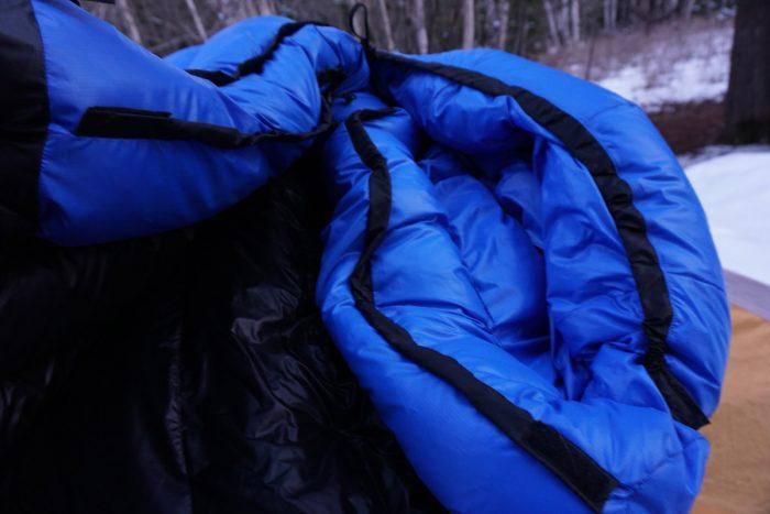 Western Mountaineering Antelope MF Sleeping Bag Draft Collars