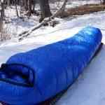 Western Mountaineering Antelope MF Sleeping Bag In Snow