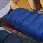 Western Mountaineering Antelope MF Sleeping Bag in Tent