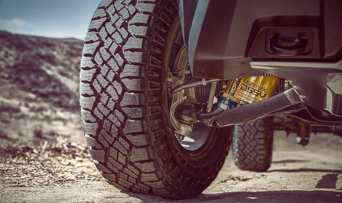 Chevy Colorado ZR2 clearance