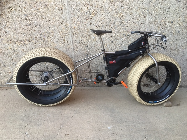 Fat bike for Antarctica