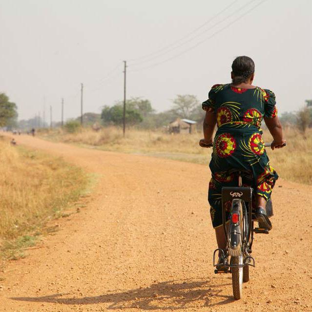 miir-bike-woman-riding-africa