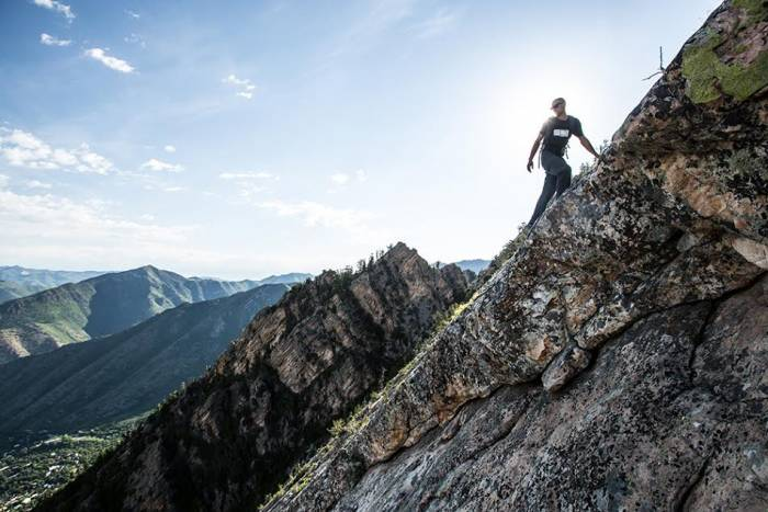 Wasatch mountain traverse