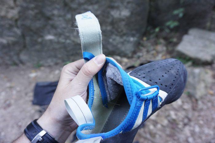 Butora Acro Rock Climbing Shoe Inside Shoe