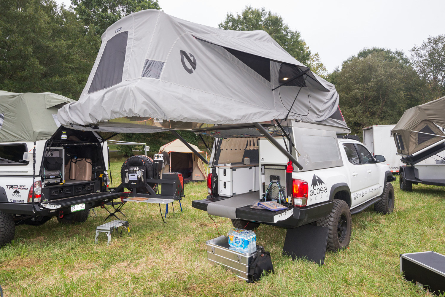Pickup Topper Becomes Livable Pop Top Habitat Gearjunkie
