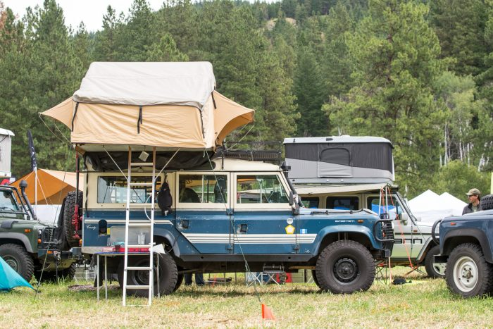 Overland vehicle roof top tent