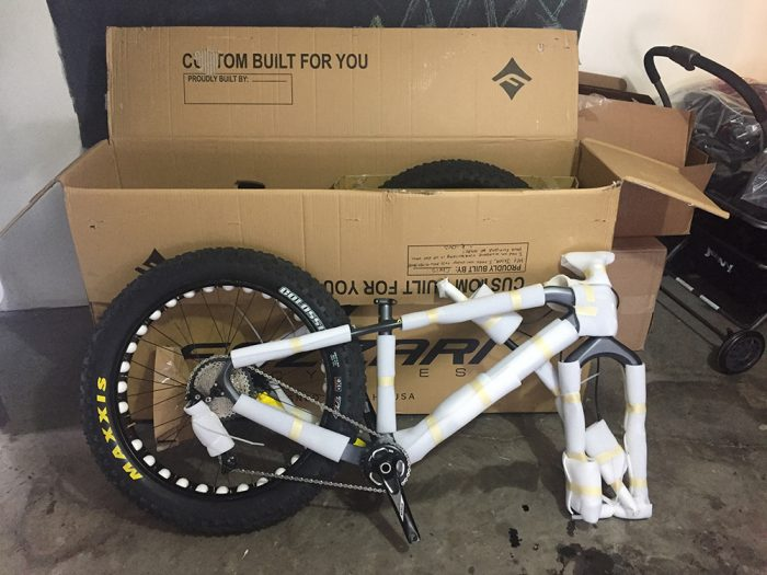 fezzari fatbike custom built