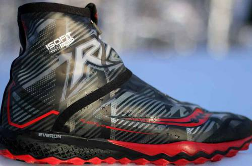 saucony razor ice winter running shoes