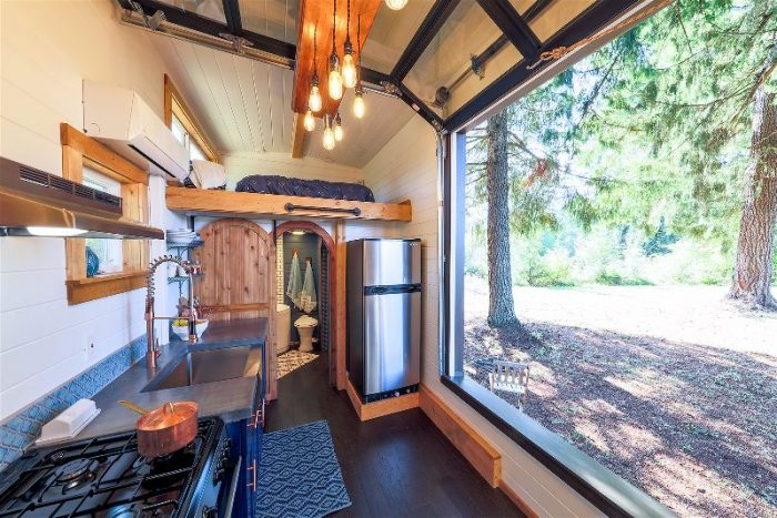 tiny home interior
