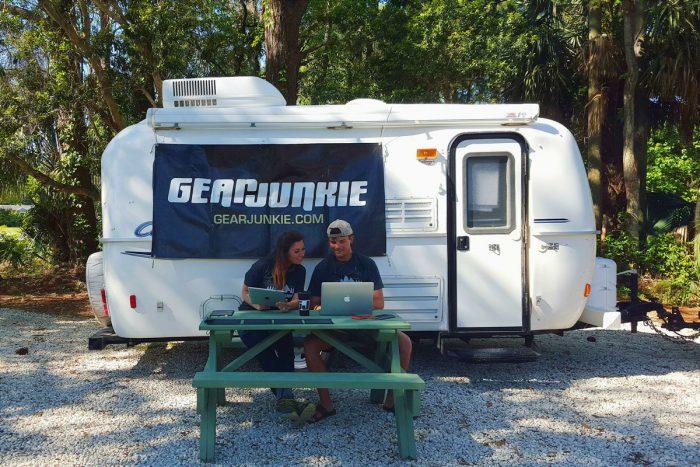 off grid camper