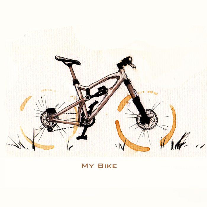 Mountain Bike Sketch | www.pixshark.com - Images Galleries ...