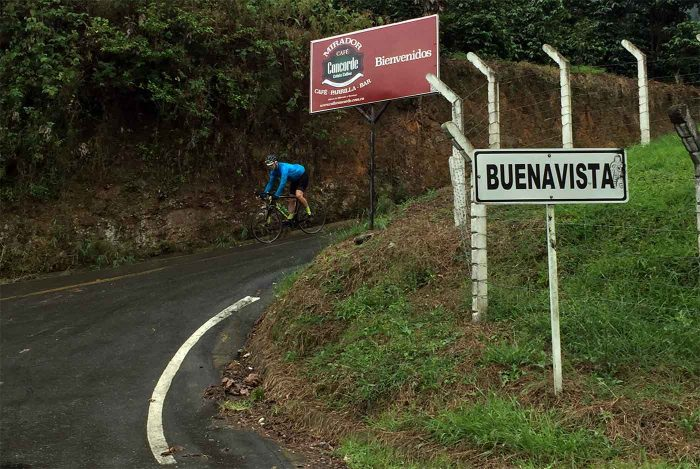 Road bike touring Colombia