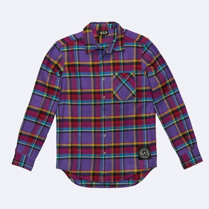 sas recycled flannel shirt