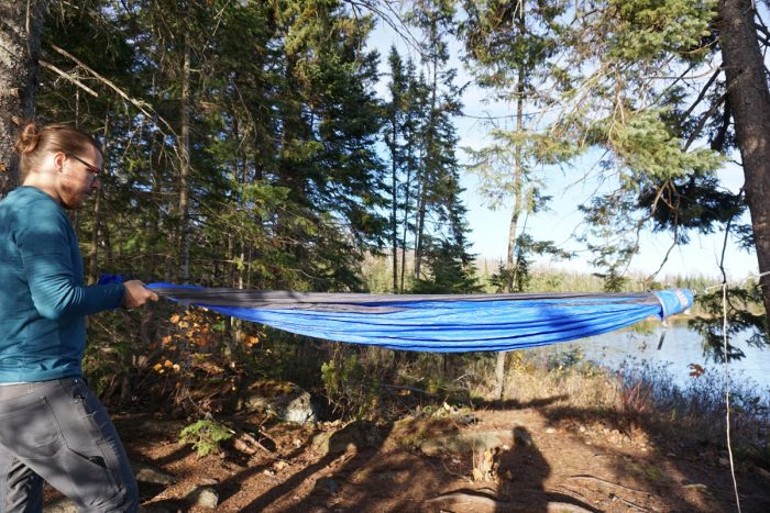 Medium image of eno technest hammock setup