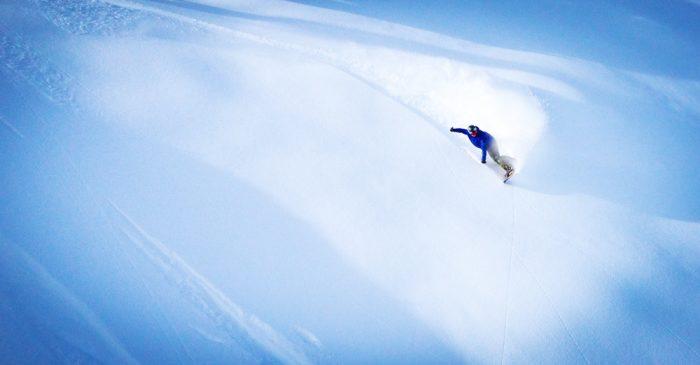 powder mountain snow edit