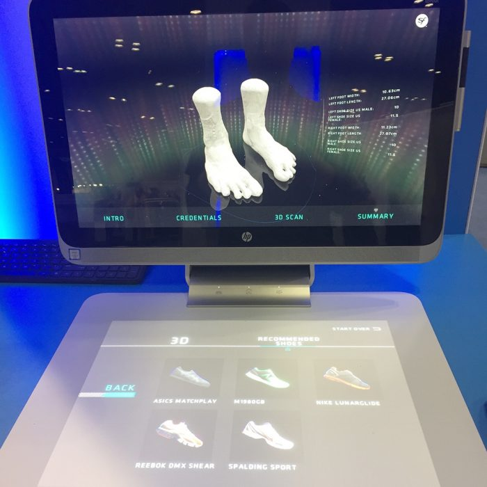 superfeet hp foot scan