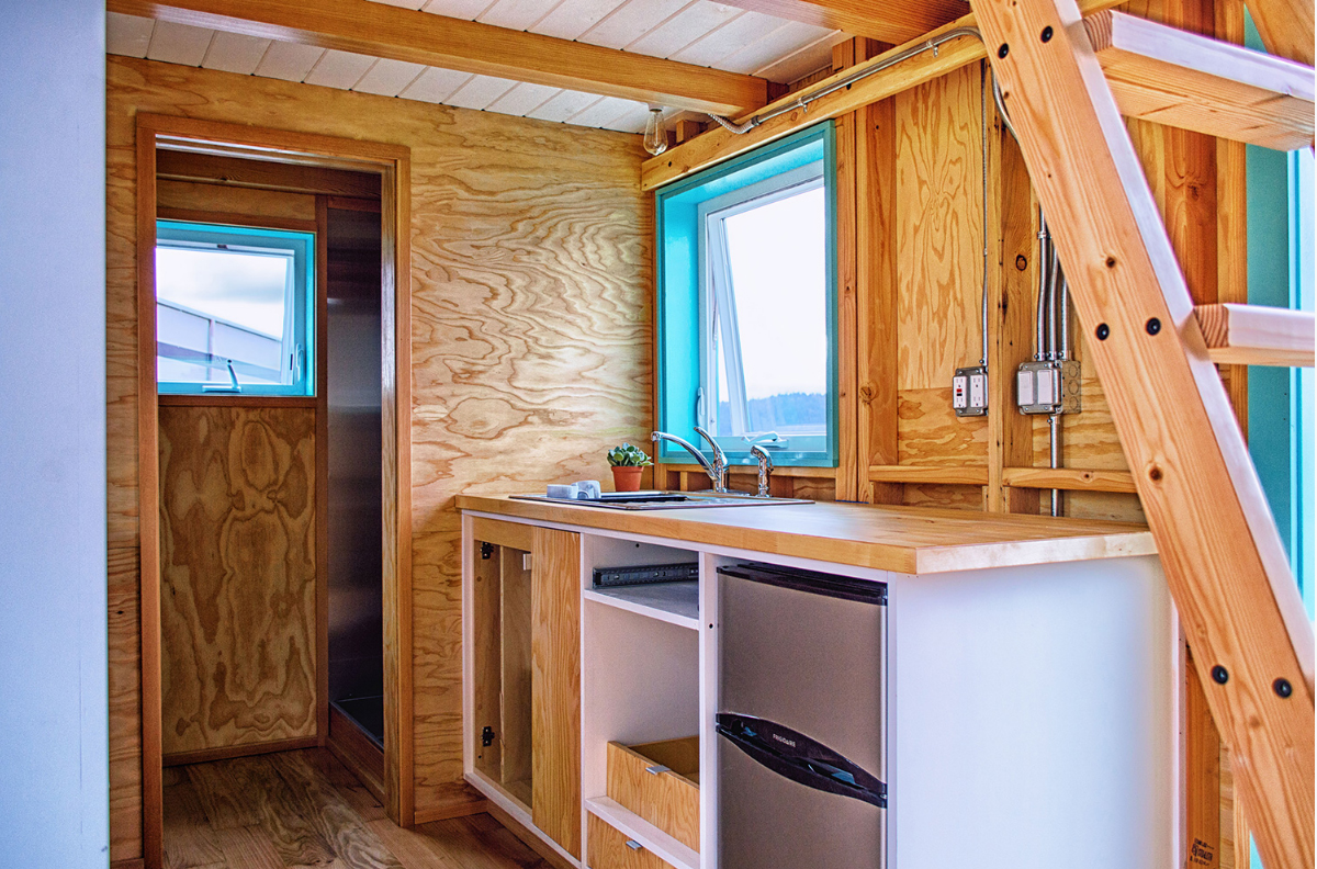 DIY tiny home