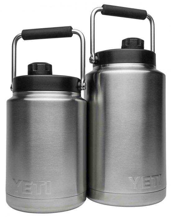 Rambler Jugs come in two sizes