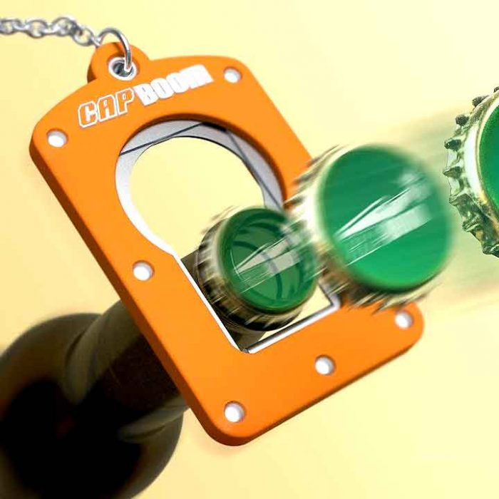 Capboom bottle opener shooter