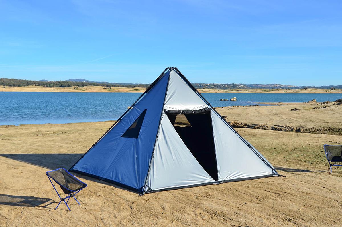 buffalo tent lifestyle & Designed For Desert Heat u0027Buffalo Tentu0027 Sleeps 14