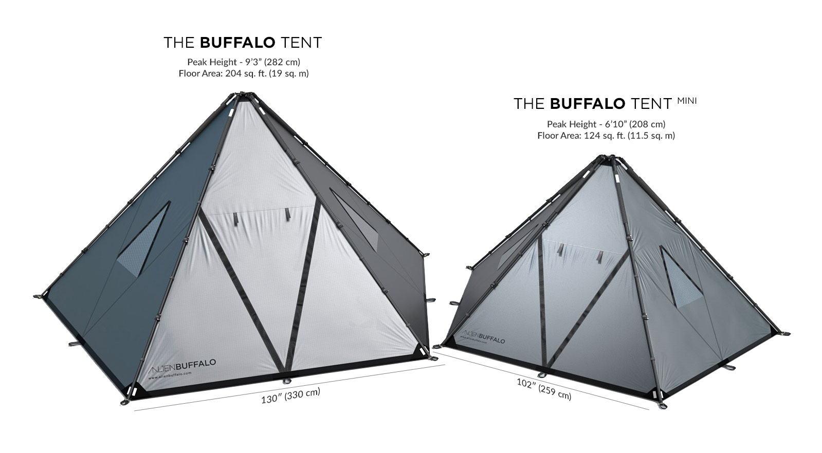 buffalo tent mini shelter