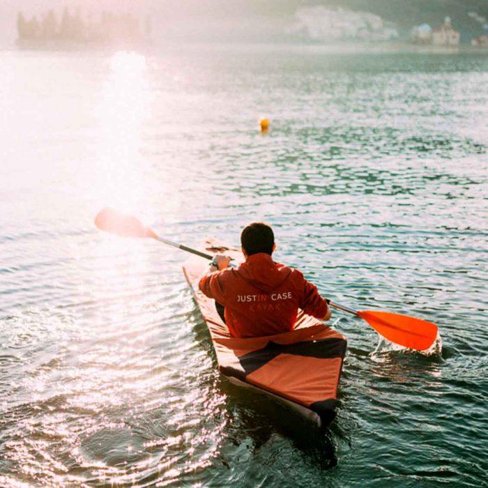 Justin Case Lightest Fold up kayak