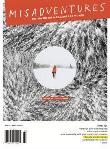 Misadventures Women Adventure Magazine Issue 2 cover